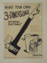 Image of Make your own 3-dimensional cartoon - Conrad, Paul, 1924-